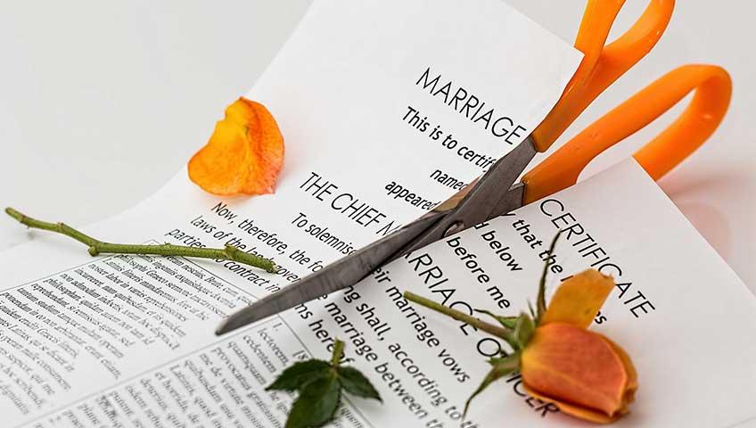 Расторжение брака и раздел имущества